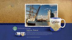 Starbucks City Mug Gdynia Desktop Wallpaper by Magic Ketchup, via Flickr
