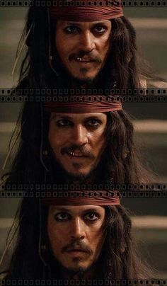 Johnny as Jack Sparrow