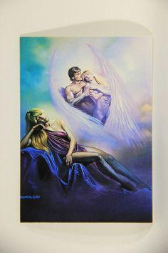 L011014 Boris Vallejo 1992 Card / Numdja - 1990 - Card #17 / ARTWORK