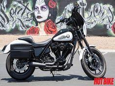 TU Bruiser – A Custom 1985 Harley Davidson FXRP