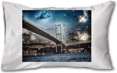 Büşra Çavuşoğlu - Bridge - Kendin Tasarla - Yastık 45 x 27 x 10 cm