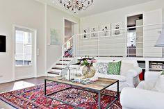классический шерстяные ковры в интерьере