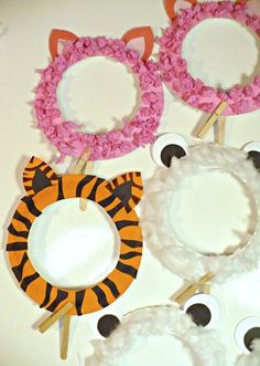 Arts and crafts Kids Crafts, Animal Crafts For Kids, Daycare Crafts, Toddler Crafts, Diy For Kids, Arts And Crafts, Paper Plate Crafts, Paper Plates, Circus Theme