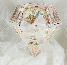 Make Diamond Album Gift Music Box With Graphic 45