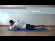 4 Lage Rug Versterkende Oefeningen - YouTube