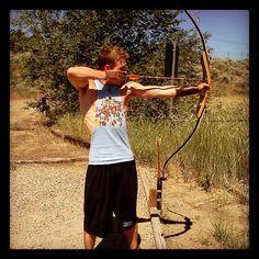 #foreverago #recurve #archery #needabetterbow #Padgram