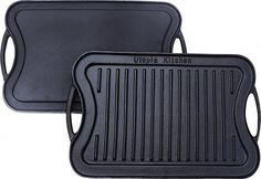 Utopia Kitchen Reversible Cast Iron Grill Griddle 17 x 10 inch Grill Pan Steak, Best Grill Pan, Chef Grill, Cast Iron Grill Pan, Griddle Grill, Pan Grilled Chicken, Griddle Recipes, Blackstone Griddle, Kitchen Sale