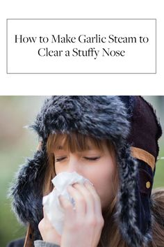 Things that help a stuffy nose