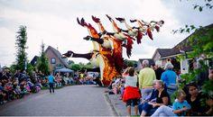 Le corso fleuri à Sint Jansklooster aux Pays-Bas !