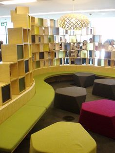 Youth area, Craigieburn Library, New South Wales