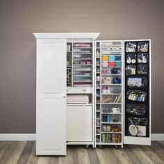 Multifunctional Deluxe Wardrobe - Multifunctional Deluxe Wardrobe The Effective Pictures We Offer You About craft storage containers - Craft Storage Cabinets, Craft Cabinet, Storage Bins, Locker Storage, Craft Armoire, Storage Containers, Craft Room Design, Small Room Design, Folding Wardrobe