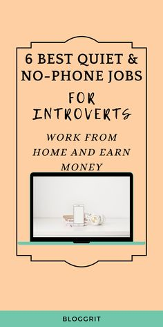6 Best Introvert-Friendly Work from Home Jobs Home Based Work, Work From Home Careers, Legit Work From Home, Online Work From Home, Work From Home Opportunities, Fun At Work, Make Money From Home, How To Make Money, Jobs For Housewives
