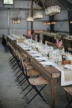 Durham Ranch is the perfect venue if you want privacy, a modern-meets-rustic feel and to party late!