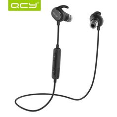 Buy QCY QY19 Wireless Bluetooth Headphones Sport Sweatproof In-Ear Stereo Earbuds V4.1 Earphones – Black - Intl online at Lazada. Discount prices and promotional sale on all. Free Shipping.