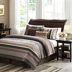 Madison Park Princeton 5 Piece Quilted Coverlet Set, Full/Queen, Red -- Find out more about the great product at the image link. Coverlet Bedding, Bedding Sets, Comforters, Beige Bedding, Cotton Bedding, Quilt Sets, Bedding Collections, Bed Spreads, Decoration