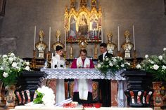 This is the 13th Century  Gothic Catholic Church where Louis and Emily will be wed in Varenna on Lake Como, Italy