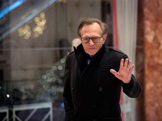 Larry King: Trump Protesters Smashed My Car Windows In -    #NASTYWOMEN #WOMENSMARCH