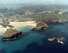 Playa de Barro, Llanes en Asturias.