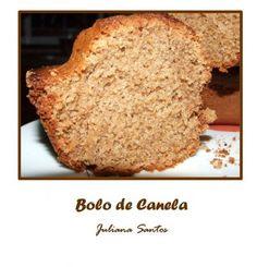 Receitas - Bolo de Canela - Petiscos.com