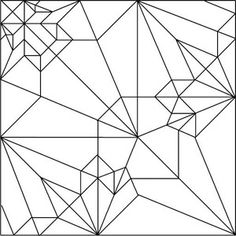 Wolf/Crease Pattern