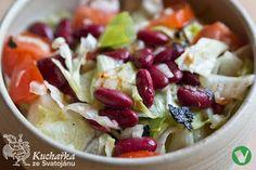 FAZOLOVÝ SALÁT Vegan Vegetarian, Potato Salad, Cabbage, Potatoes, Vegetables, Ethnic Recipes, Food, Diet, Potato