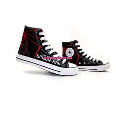 I love Spider-Man and I love converse!!! And now there collided?!?!