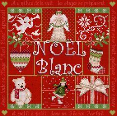 """""""Noël Blanc"""" Red"""