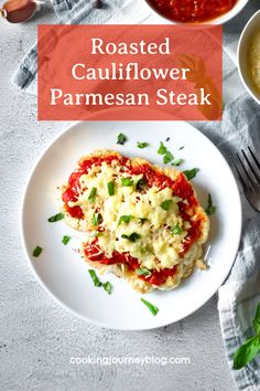 Easy and delicious meatless meal idea! You will love this cauliflower recipe made Italian style. Include more vegetables in your diet with this dinner idea!