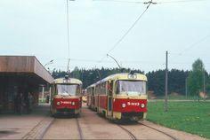 20 мая 1987 года. В Иманте на кольце трамвая...