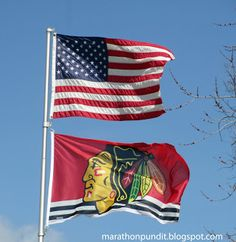 The Chicago Blackhawks are currently playing in the NHL Stanley Cup Finals against the Boston Bruins. The series is tied at two games apiece. Blackhawks Hockey, Hockey Teams, Chicago Blackhawks, Hockey Players, Hockey Baby, Hockey Stuff, Hockey Girls, Boys, Chicago Hockey