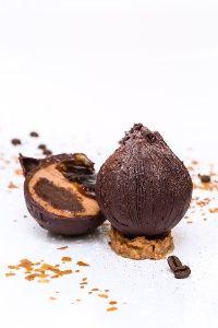 Gâteau chocolat café - Stéphane Tranchet - Hôtel Le Burgundy - Crémeux café jivara, biscuit chocolat, gelée café, croustillant feuilletine chocolat blanc
