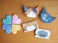 Catchy Cat Origami Origami has been a big part of Japanese art culture. Since paper folding was introduced to Japan, Japanese have developed particular ways to  #origami