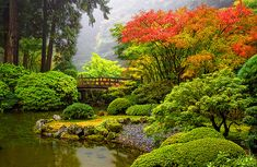 The docent at Anderson Gardens mentioned this Japanese Garden, Portland, Oregon was wonderful  photo via elizzabeth