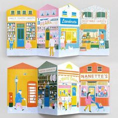 Up My Street Louise Lockhart Children's Book Illustration, Graphic Design Illustration, Posca Art, Illustrations And Posters, Art Plastique, Book Design, Paper Dolls, Illustrators, Paper Art