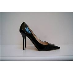 Jimmy Choo Abel Black Patent Leather Pump Size 38 Jimmy Choo Abel Black Patent Leather Pointy Toe Pumps size 38 100% Authentic.                       Check out my eBay items as well! Just type in my username cytram11 and you can browse through the things I'm selling or go to my link! Jimmy Choo Shoes Heels