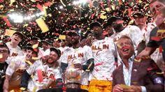 LeBron James and Cavs Advance To NBA Finals