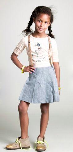 Cute schoolgirl look