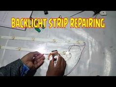 LCD LED repairing practical video - YouTube Tv Backlight, Tvs, Youtube, Youtubers, Youtube Movies, Tv