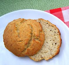Healthy Bread Rolls (Gluten- and Grain-Free)    (Coconut Flour, Flax Meal and Ground Sunflower Seeds)