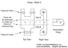 Wooden Hinges Diagram