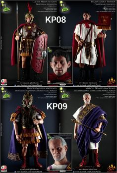 209.99$  Watch here - http://ali8a5.worldwells.pw/go.php?t=32660618411 - KAUSTIC PLASTIK 1/6 KP08/KP089 Ancient Rome Praetorian Guard Action Figure Dolls with Accessories  Weapon Collectible Gift Model