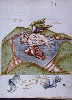 Rosarium Philosophorum 14th century (?) alchemical illustration