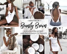 Bounty Brown - Brown And White Presets, Tan Summer Filters, Brown Warm Lightroom Photography Editing, Digital Photography, Photo Editing, Inspiring Photography, Flash Photography, Night Photography, Photography Tutorials, Beauty Photography, Creative Photography