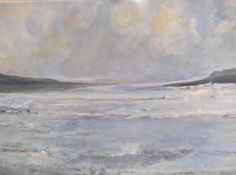 Just finished - wish I could get the sea out of my head for awhile Acrylics on canvas (2012)