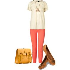 Vicky, created by #cakestyle on #polyvore. #fashion #style J Brand Tory Burch