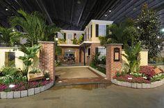 2008 Philadelphia Flower Show  EP Henry Exhibit: 'Big Easy' Garden Café