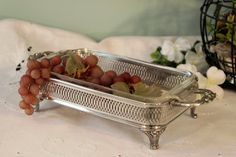 This is an awesome serving piece! Perfect for serving a dessert or a side dish.