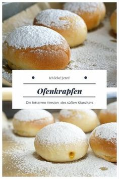 Ofenkrapfen - Kuchen Rezepte Oven donuts Oven donuts with less fat The post Oven Donuts appeared first on Cake Recipes. Chocolate Cookie Recipes, Easy Cookie Recipes, Sweet Recipes, Baking Recipes, Chocolate Cake, All Recipes, Baking Desserts, Food Cakes, Cake Mix Recipes