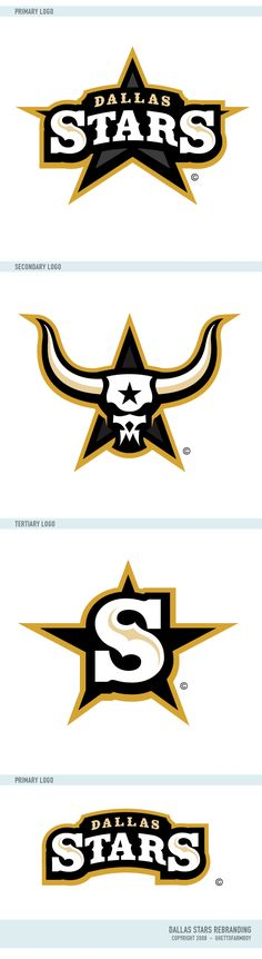 Dallas Stars Logos by matthiason.deviantart.com on @deviantART