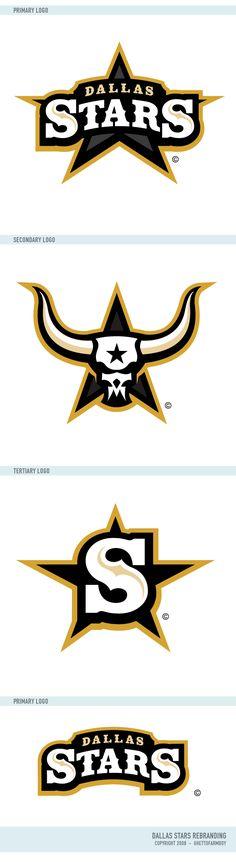 Dallas Stars Logos by matthiason.deviantart.com on @deviantART